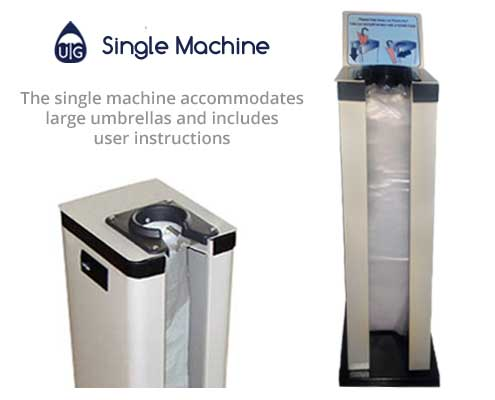 single umbrella wrapping machine