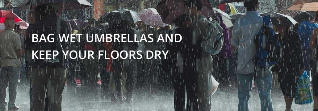 Wet Umbrella bags and machines